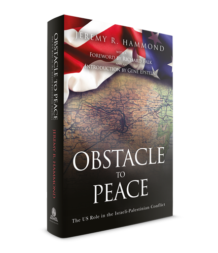 Obstacle to Peace - 3D Book Cover - Hardcover
