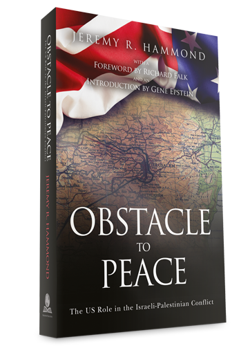 Obstacle to Peace - 3D Cover - Paperback