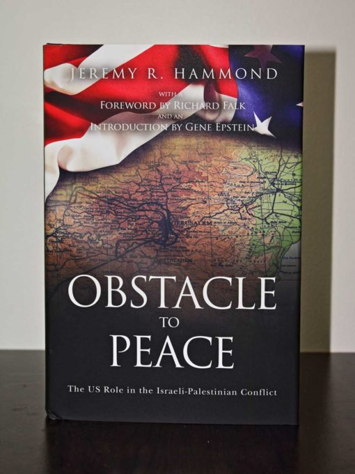 Obstacle to Peace front cover