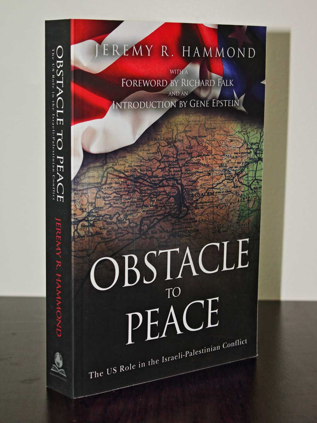 Obstacle to Peace front cover and spine
