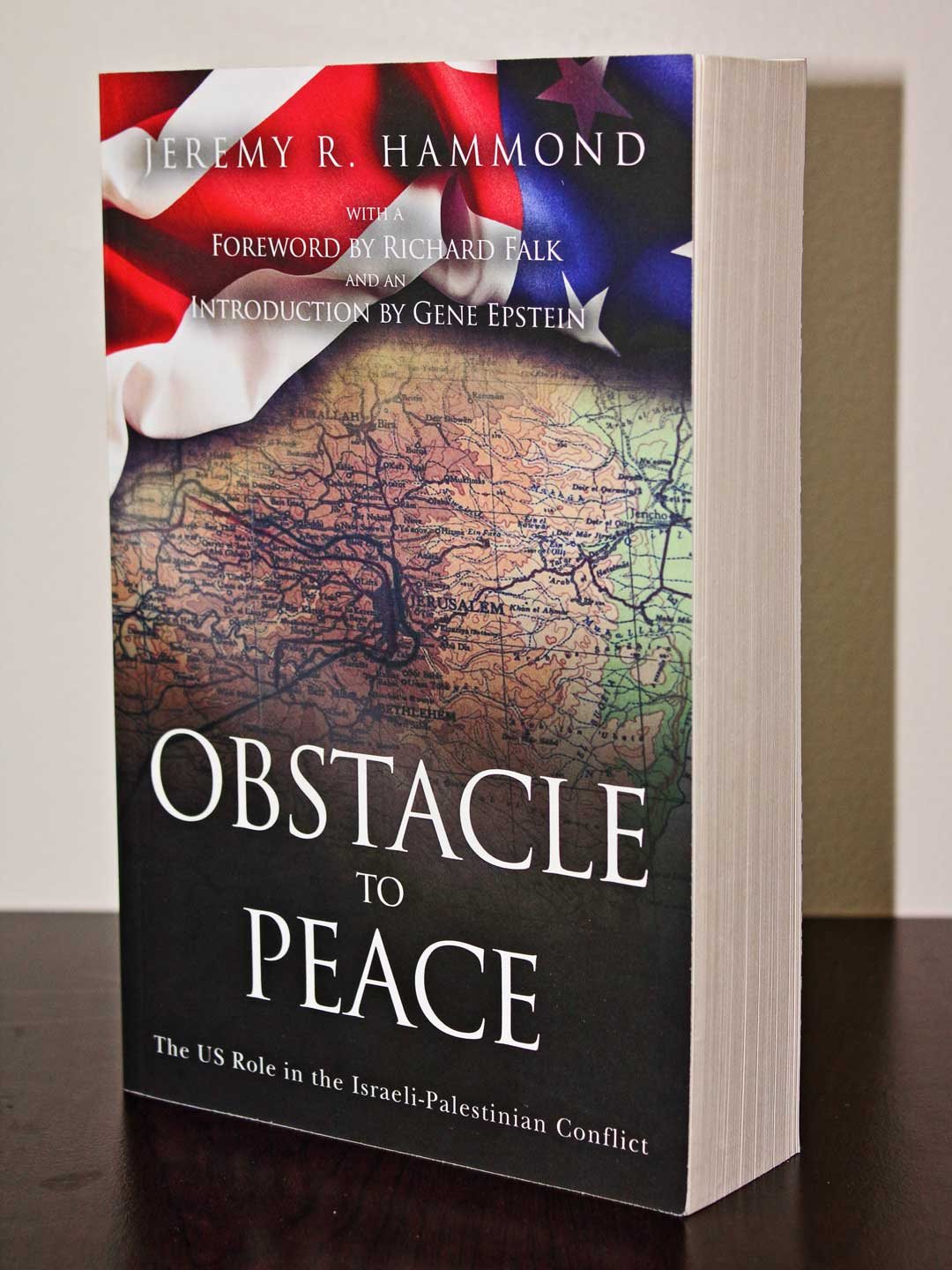 Obstacle to Peace front cover and pages