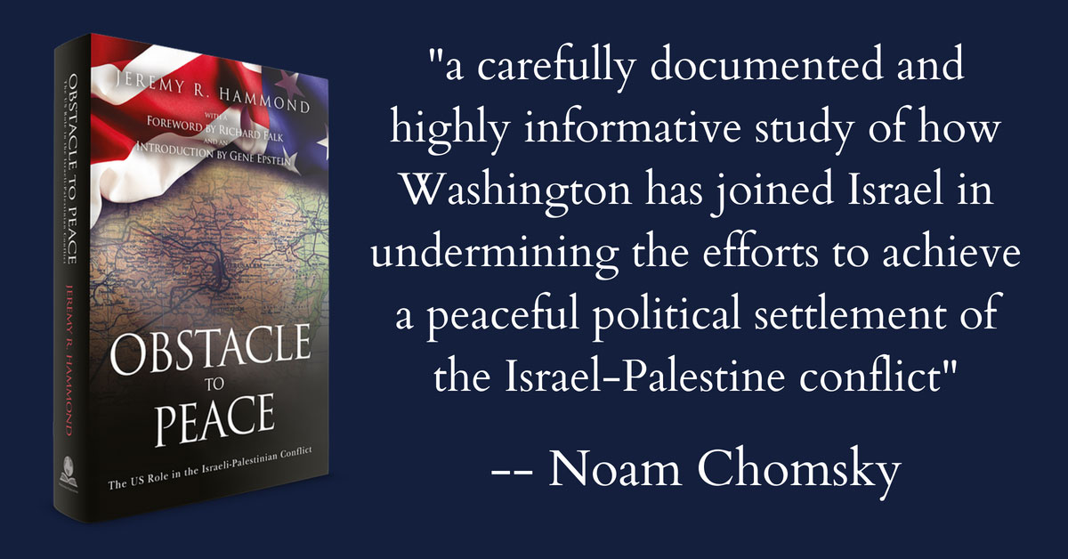 Obstacle to Peace: The US Role in the Israeli-Palestinian